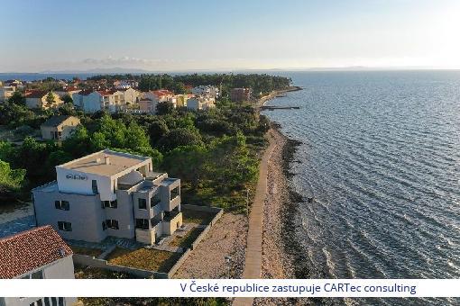 PRIVLAKA - Prodej luxusního apartmánu s překrásným výhledem na moře