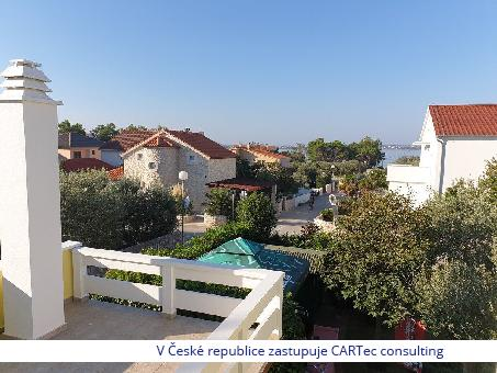 VRSI / MULO - Prodej domu s pěti mezonetovými jednotkami - 170 m od moře