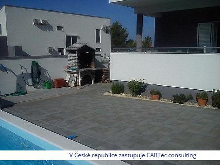 VRSI / MULO - Prodej apartmánu s bazénem - 380 m od moře a pláže