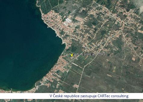 VRSI / MULO - Prodej stavebního pozemku - 240 m od moře