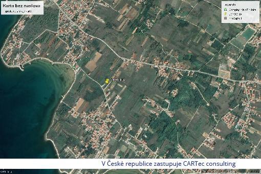 PRIVLAKA/BATALAŽA - Prodej stavebního pozemku - 250 m od moře