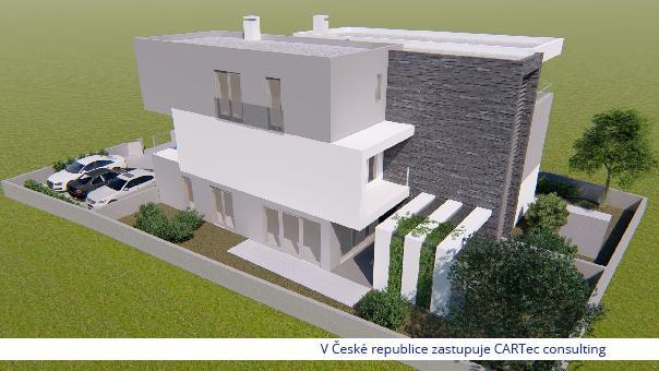 NIN / ZATON - Prodej luxusního apartmánu v novostavbě - 300 m od moře (Novinka!)