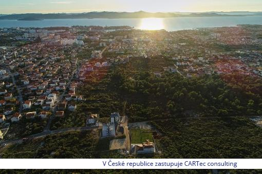 ZADAR - Prodej luxusního domu s velkým pozemkem a výhledem na moře - Exkluzivní lokalita!