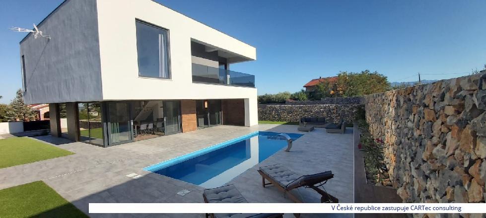 VRSI - Prodej luxusní vily s bazénem - NOVINKA!