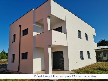 VIR - Prodej apartmánů v novostavbě bytového domu - 500 m od moře