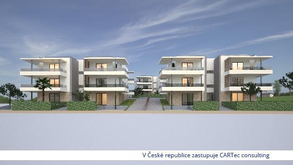 ZADAR/BORIK - Prodej bytu v přízemí novostavby se zahrádkou