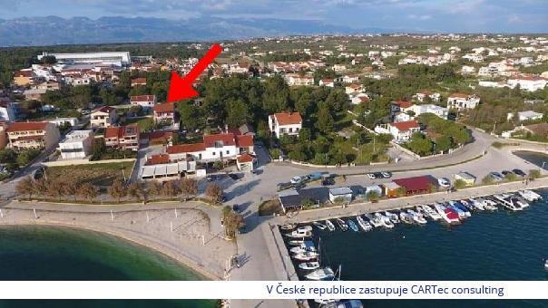 VRSI / MULO - Prodej dvojdomu s bazénem - 140 m od pláže