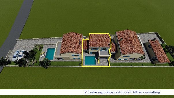 NIN - Prodej řadového domu - 1 km od moře