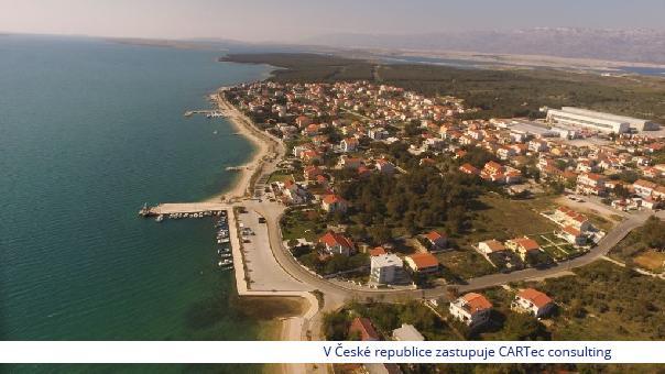 VRSI - Prodej stavebních pozemků - 550 m od moře a pláže