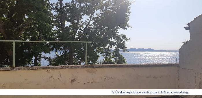 ZADAR - Prodej bytu s výhledem na moře - pouhých 20 m od moře