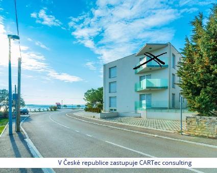 VRSI / MULO - Prodej apartmánu s výhledem na moře - 1. řada u moře - Jedinečná nabídka!!!