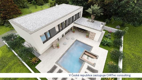 NIN / ZATON - Prodej luxusní vily s bazénem - 1 km od moře - NOVINKA!