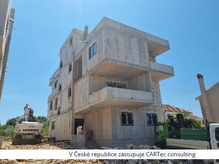 PETRČANE - Prodej bytů v novostavbě - 350 m od moře