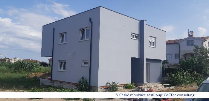VRSI / ZUKVE - Prodej mezonetového apartmánu se zahradou - 400 m od moře