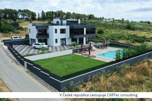 ZADAR / VIDIKOVAC - Prodej luxusní vily s bazénem a výhledem na moře