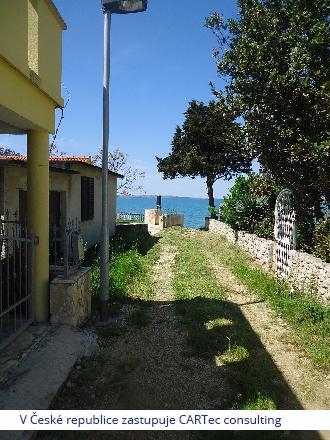 VRSI / ZUKVE - Prodej rekreačního domku - 30 m od moře
