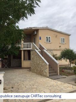 VRSI / ZUKVE - Prodej domu se 4 apartmány - 450 m od moře