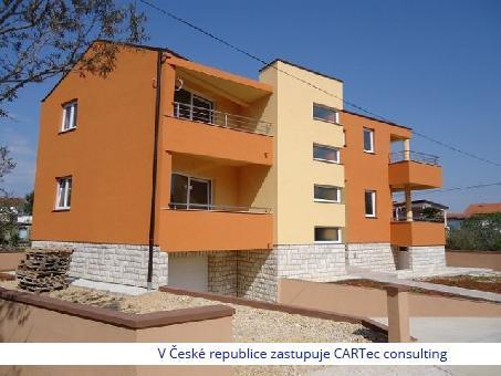 NIN - Prodej nově postaveného domu se 3 apartmány - 300 m od moře