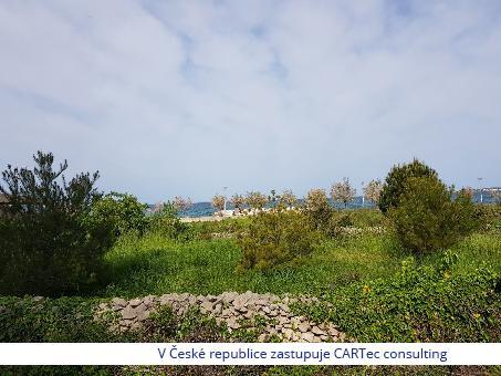 ZATON - Prodej stavebního pozemku ve 3. řadě od moře