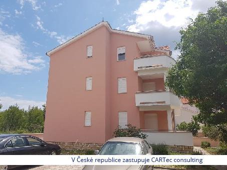 VRSI / MULO - Prodej dvouložnicového apartmánu s výhledem na moře - 300 m od moře