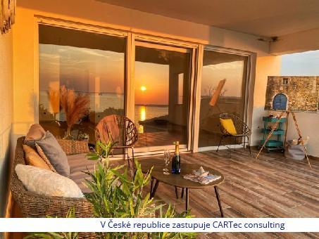 NIN / ZUKVE - Prodej bytů v novostavbě moderního bytového domu s výhledem na  moře -  jen 50 m od pláže!