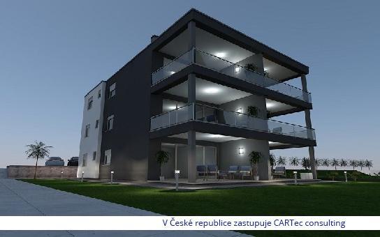 VRSI / ZUKVE - Prodej posledních dvou bytů v novostavbě moderního bytového domu s výhledem na  moře -  jen 50 m od pláže!