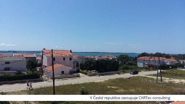 VRSI / MULO - Prodej rekreačního domu s velkou zahradou - 500 m od moře