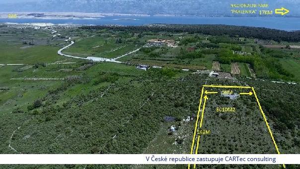 VRSI - Atraktivní stavební pozemek - 1500 m od moře
