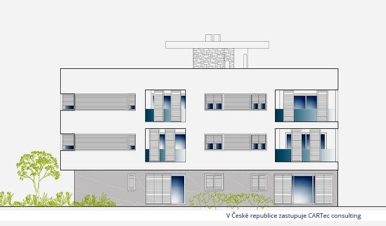 NIN - Apartmány s výhledem na moře - 500 m od moře