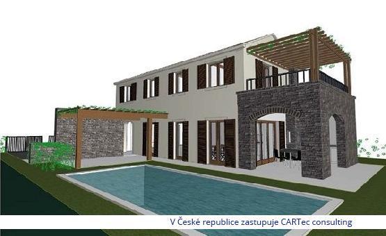 NINSKI STANOVI - Prodej stavebního pozemku se stavebním povolením - započatá stavba