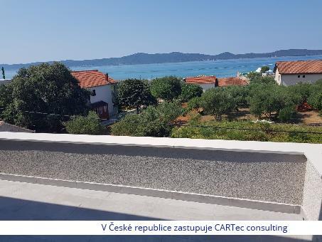 SUKOŠAN - Prodej apartmánů s výhledem na moře