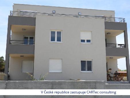 PRIVLAKA / SABUNIKE - Prodej posledního apartmánu v přízemí - 1. řada u moře