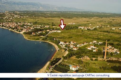 NIN - Prodej stavebního pozemku - 400 m od moře