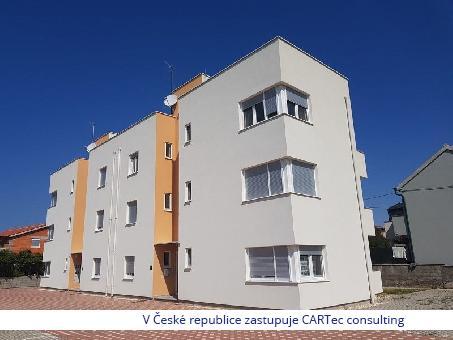 NIN / ŽDRIJAC - Prodej apartmánu v novostavbě - 50 m od moře