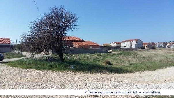 PRIVLAKA - Prodej stavebního pozemku - 450 m od moře