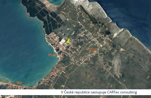VRSI / MULO - Prodej stavebního pozemku - 550 m od moře