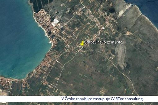 VRSI - Stavební pozemek s výhledem na moře - 750 m od moře