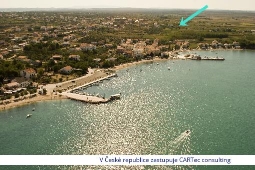 VRSI / MULO - Prodej stavebních pozemků 600 m od moře a pláže