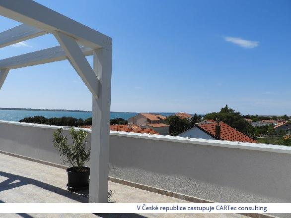 VRSI / MULO - Prodej apartmánu se 3 ložnicemi - novostavba - 100 m od moře!