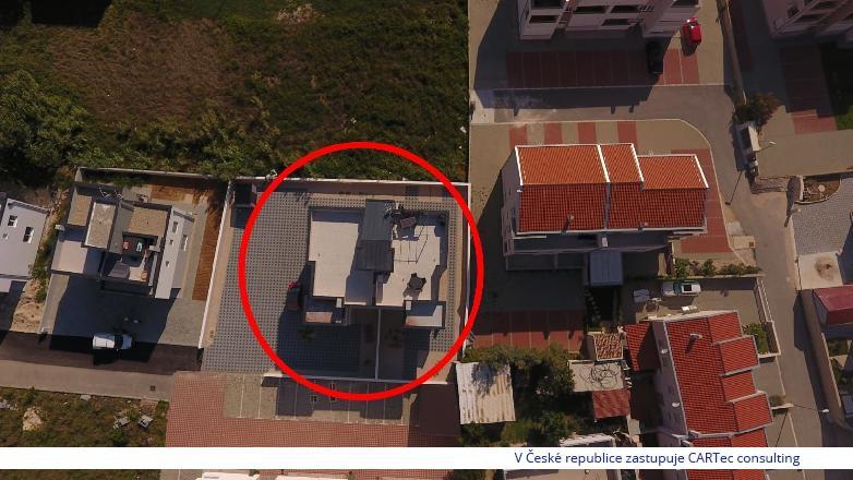 NIN / ŽDRIJAC - Prodej apartmánu se střešní terasou a výhledem na moře a pohoří Velebit - 100 m od moře a pláže