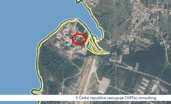 ZATON - Punta Šepurine - stavební pozemek