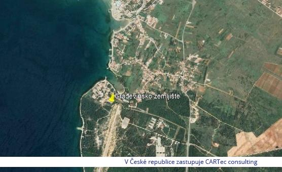 ZATON - Prodej stavebního pozemku - 50 m od moře