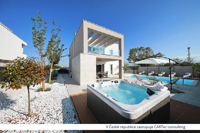 NIN/ZATON - vila s bazénem