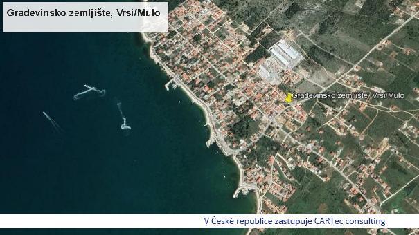 VRSI / MULO - Prodej stavebního pozemku - 350 m od moře