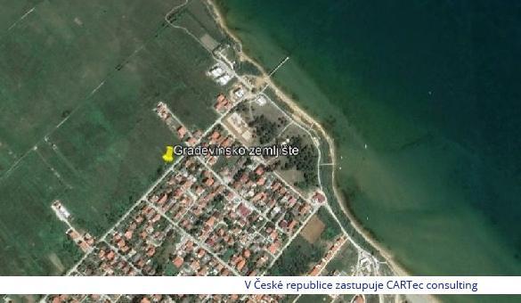 PRIVLAKA - Prodej stavebního pozemku - 250 m od moře