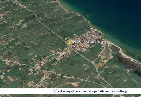 PRIVLAKA - Prodej stavebního pozemku - 1 km od moře