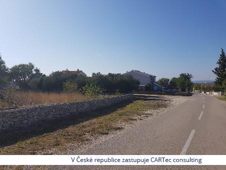 VRSI - Stavební pozemek 582 m2 - vzdálenost 1,7 km od moře