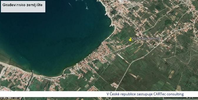VRSI / MULO - Prodej stavebního pozemku - 500 m od moře