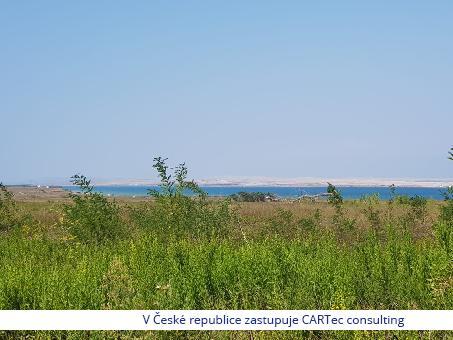 Privlaka - stavební pozemek 350 m od moře