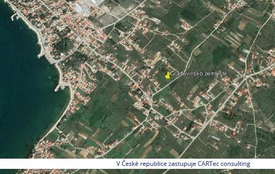 VRSI - Stavební pozemek - 1 km od moře